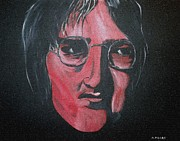 Classic Singer Digital Art - John Lennon Mosiac by Mark Moore