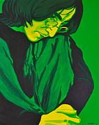 John Lennon Print by Rebecca Mott