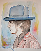 Beatles Mixed Media - John Lennon by Ruth Oosterman