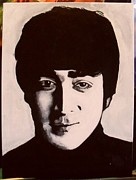 John Lennon Painting Originals - John Lennon by Stephen Humphries