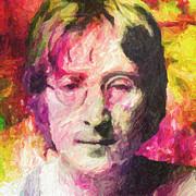 John Lennon Print by Taylan Soyturk