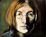 John Lennon Unseen Print by Ruben Barbosa