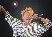 Johnny Rotten Painting Originals - John Lydon by John Pimlott