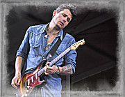 John Mayer Framed Prints - John Mayer Framed Print by Lucrecia Cuervo