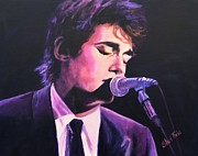 Glow Painting Originals - John Mayer by Shirl Theis
