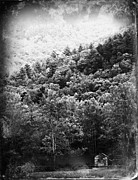 Gatlinburg Tennessee Prints - John Olivers Cabin Print by Susie Weaver