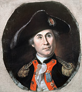 American Revolution Paintings - John Paul Jones by Granger
