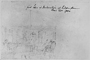 18th Century Drawings - John Trumbull Sketch by Granger