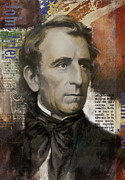 John Tyler Print by Corporate Art Task Force
