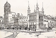 John Wanamaker's Grand Depot Print by Ira Shander