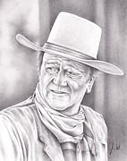 John Wayne Print by Jamie Warkentin