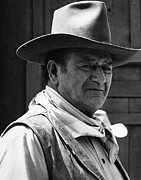 Shootist Prints - John Wayne Rio Lobo Old Tucson Arizona 1970 Print by David Lee Guss