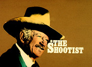 Shootist Prints - John Wayne The Shootist Print by John  Dunn