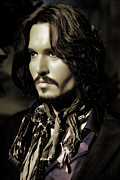 Pirates Of Caribbean Prints - Johnny Depp Print by Lee Dos Santos