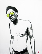 Show Mixed Media - Johnny Knoxville by Venus