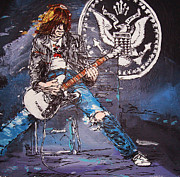 Music Mixed Media - Johnny Ramone by Ken  Bastard