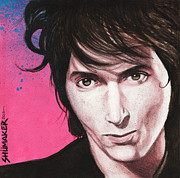 Stopper Prints - Johnny Thunders Print by David Shumate