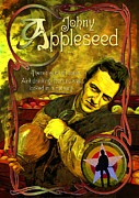 Fought Posters - Johny Appleseed AKA Joe Strummer Poster by Duncan Roberts