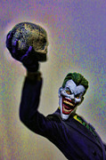 Catwoman Framed Prints - Joker - The Jokes on You Framed Print by Lee Dos Santos