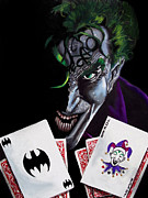Scott Parker Metal Prints - Joker 4 Metal Print by Scott Parker