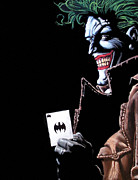 Dc Comics Drawings - Joker 5 by Scott Parker