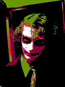 Celebrities Posters - Joker 7 Poster by Alys Caviness-Gober