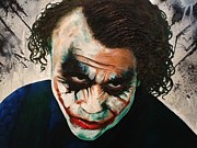 Joker Painting Originals - Joker  by Arianit Fazliu