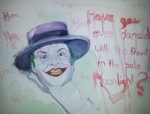 Joker Painting Originals - Joker by Melody Leach