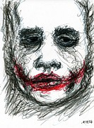 Joker - Not All Jokes Are Funny Print by Rachel Scott
