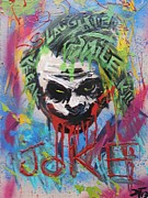 Killer Clown Framed Prints - Joker Slaughter Framed Print by Deemon Picasso