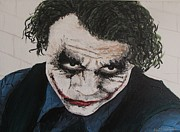 Joker Painting Originals - Joker by William McCann