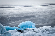 Coldest Framed Prints - Jokulsarlon - Blue Framed Print by Andy-Kim Moeller