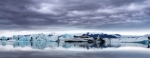 Reflections Prints - Jokulsarlon Glacial Lagoon in Iceland Print by Chris Nation