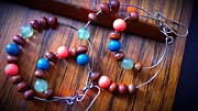 Wood Jewelry Jewelry - Joop Loops by Catherine Ratliff