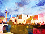 Rabat Paintings - Jordan 02 by Catf