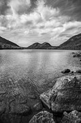 White Water Prints - Jordan Pond Acadia National Park Maine. Print by Diane Diederich