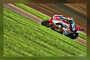 Apparel Framed Prints - Jorge Lorenzo Framed Print by Blake Richards