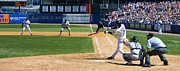 Shea Stadium Photo Framed Prints - Jose Reyes Pano Framed Print by Noah Dachis