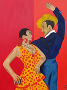 Andalucia Paintings - Jose y Lola by Greg Mason Burns