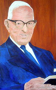 The Seer Framed Prints - Joseph Fielding Smith 1 Framed Print by Richard W Linford
