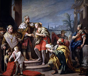 Famous Artists - Joseph in the Pharaohs Palace by Jacopo Amigoni