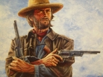 Clint Paintings - Josey Wales by Dan Nance