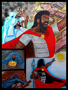 Kingdom Mixed Media Prints - Joshua Page 2 Print by Justin Moore