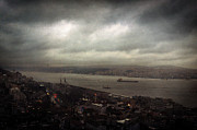 Poetic Posters - jour de pluie a Istanbul II Poster by Taylan Soyturk