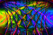 Fractal Geometry Digital Art - Journey 20130511v1 by Wingsdomain Art and Photography