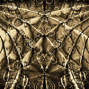 Technical Metal Prints - Journey 20130511v2 square Metal Print by Wingsdomain Art and Photography