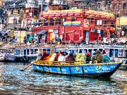 Ganga Photos - Journey on the Ganges River by Susan Buechel