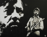 Eric Clapton Painting Metal Prints - Journeyman Metal Print by ID Goodall