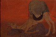 Journeys End Posters - Journeys End Poster by Abanindranath Tagore