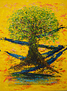 Pallet Knife Prints - Joy and Strength Print by William Killen